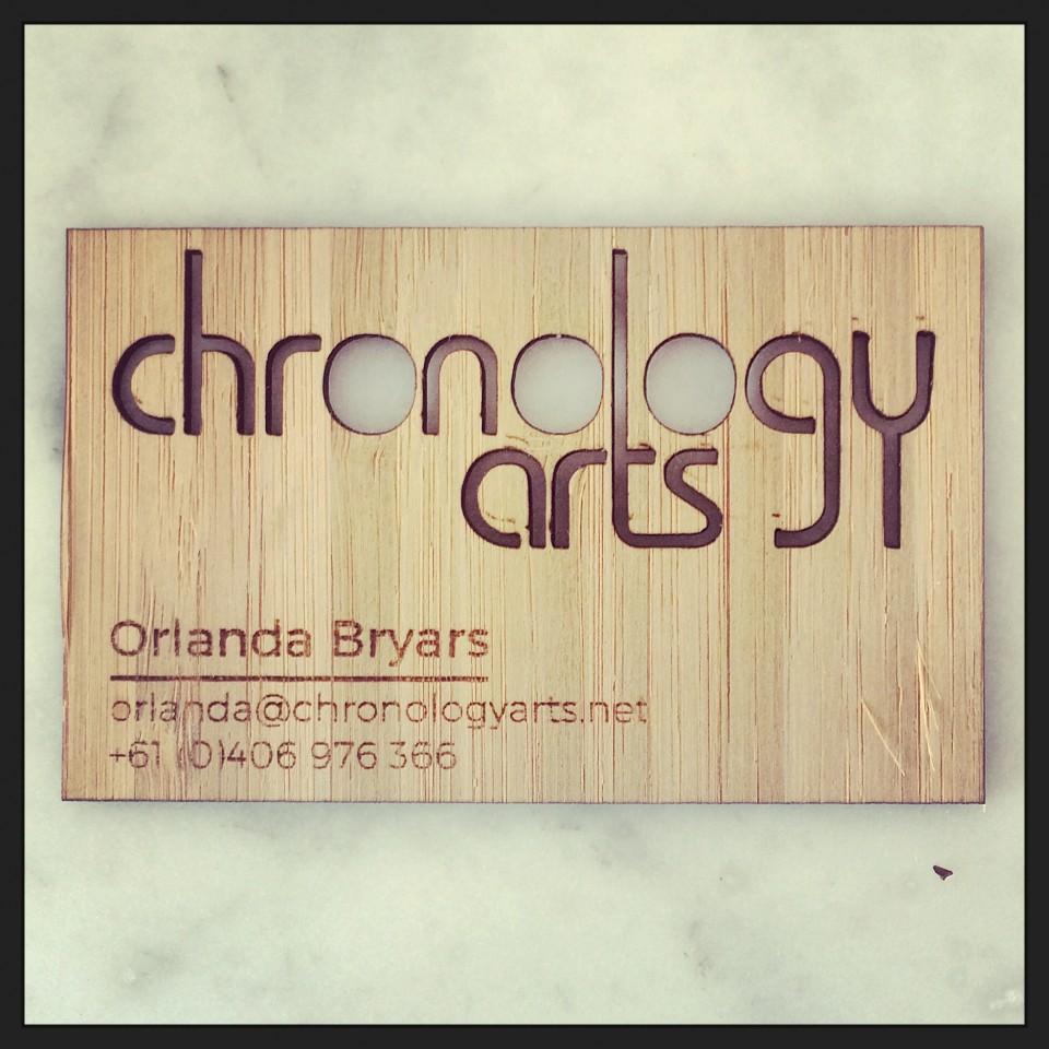 Chronology Arts